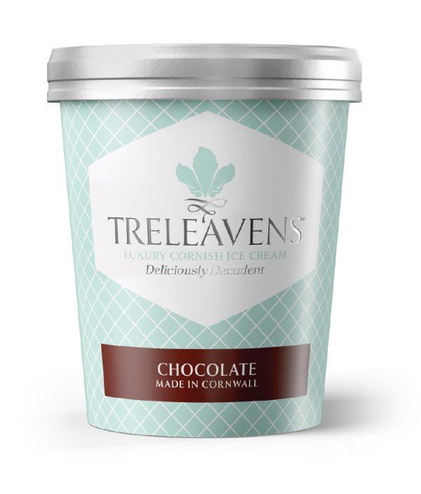 Treleavens Chocolate ice cream