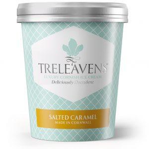 Treleavens Salted Caramel ice crea